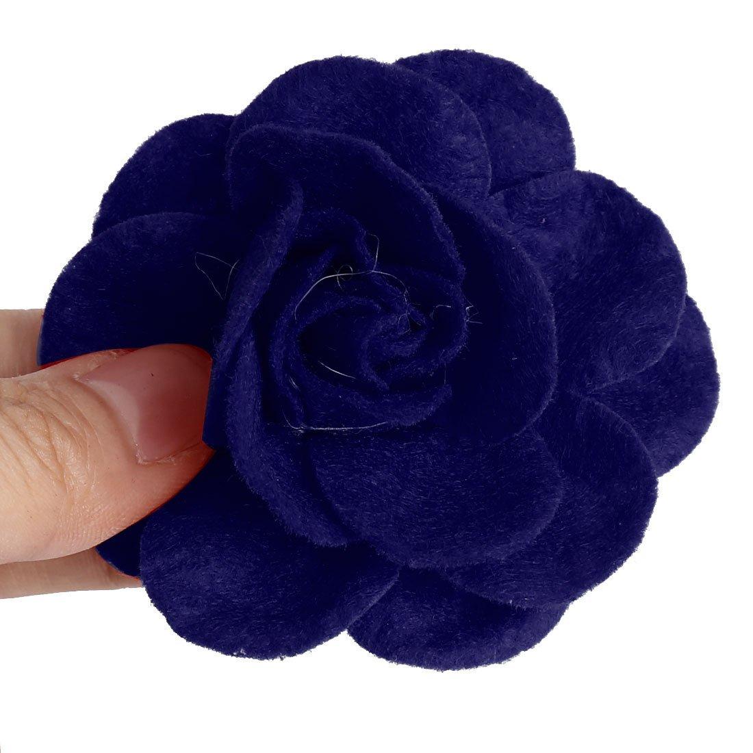 Amazon.com: eDealMax Traje de Novia Accesorios decorativa de la Flor de Rose Heads 5 PCS Azul Oscuro: Home & Kitchen