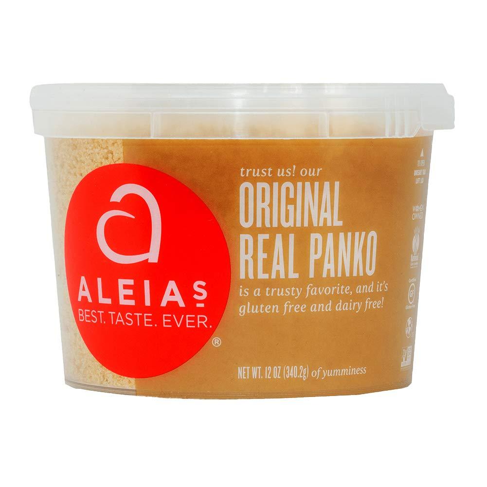 Aleia's Gluten Free Real Panko Original 12 oz, Pack of 1