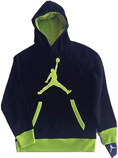 4f8c8b6473a374 Amazon.com  Jordan Big Boys Dominate 2.0 Pullover Hoodie (M(10-12YRS ...