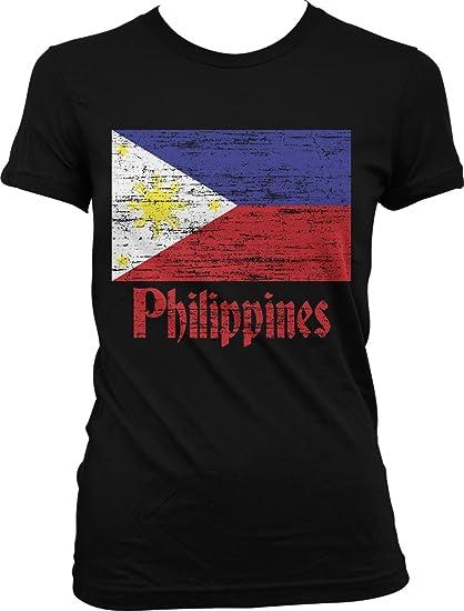 15b6afbe54d00 Amazon.com: Hoodteez Filipino Flag, Flag of The Philippines Juniors ...