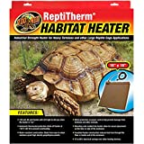 Zoo Med ReptiTherm Habitat Heater 40 watt, RH-20, 18''x18'', for heavy tortoises and other large reptiles