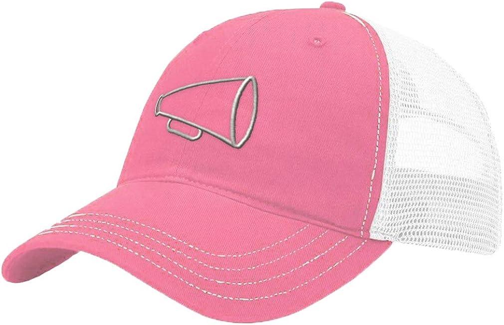 Custom Trucker Hat Richardson Megaphone Outline A Embroidery Team Name Cotton