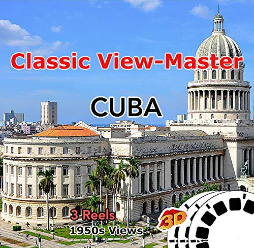 Cuba - 1950s Views Vintage Classic ViewMaster - 3 Reels Only