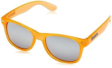 BRIGADA Lawless - Occhiali da sole, Arancione (Clear Orange), Taglia unica