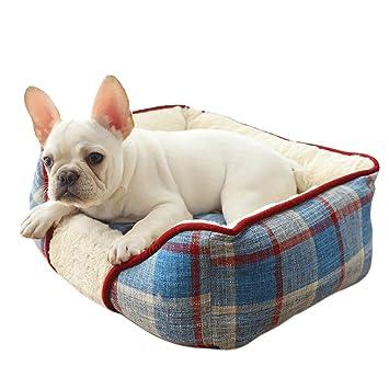 Amazon.com: XMSG Pet Cushion Dog Bed Mat House Soft Warm ...