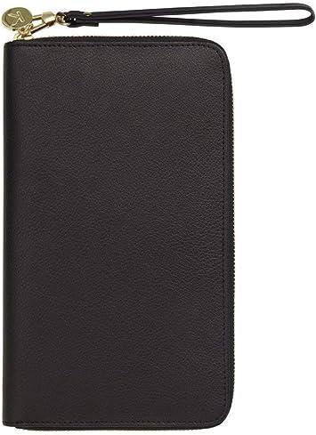 kikki.K Leather Travel Document Wallet Slim World
