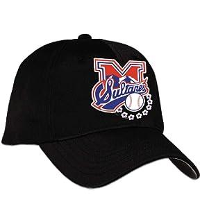Arza Sports Sultanes de Monterrey Cap Color Black_100% Cotton_Adjustable