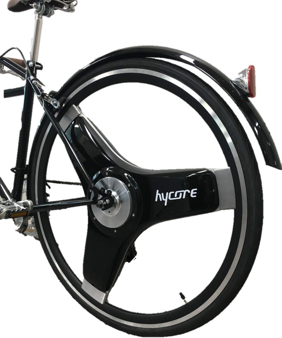 Hycore T1 - Kit de conversión de bicicleta eléctrica con interruptor de rueda en una bicicleta eléctrica, 27,5 pulgadas / 700 C, motores dobles, color Negro , tamaño 27.5, tamaño de rueda