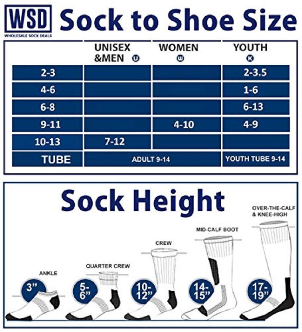 WSD Mens Ankle Socks, Wholesale Bulk Pack Athletic Sports Sock (180 Pairs Gray) by Wholesale Sock Deals (Image #2)