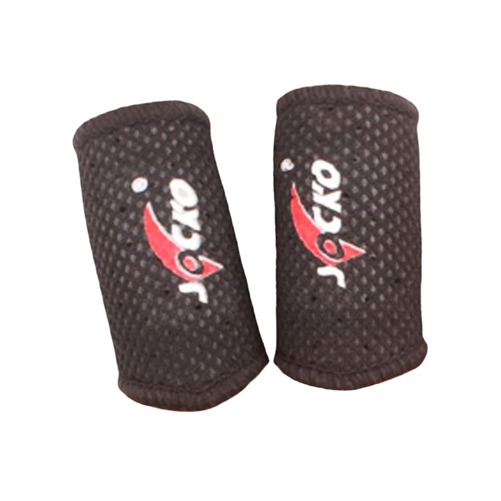 2PCS Extension Breathable Basketball Finger Guard Volleyball Finger Protector-01 Black Temptation