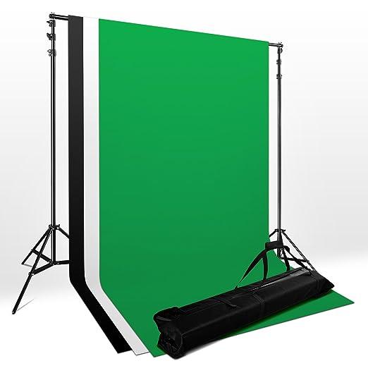 368 opinioni per Mussola Fondale Fotografico Kit -Sfondo Supporto alluminio/Sfondi Di 1.8x2.8m