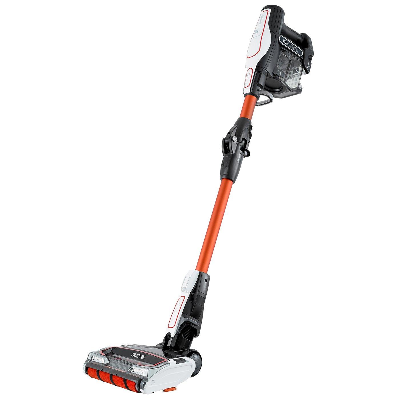 Shark Cordless Stick Vacuum Cleaner [IF250UK] Twin Battery, White and Orange