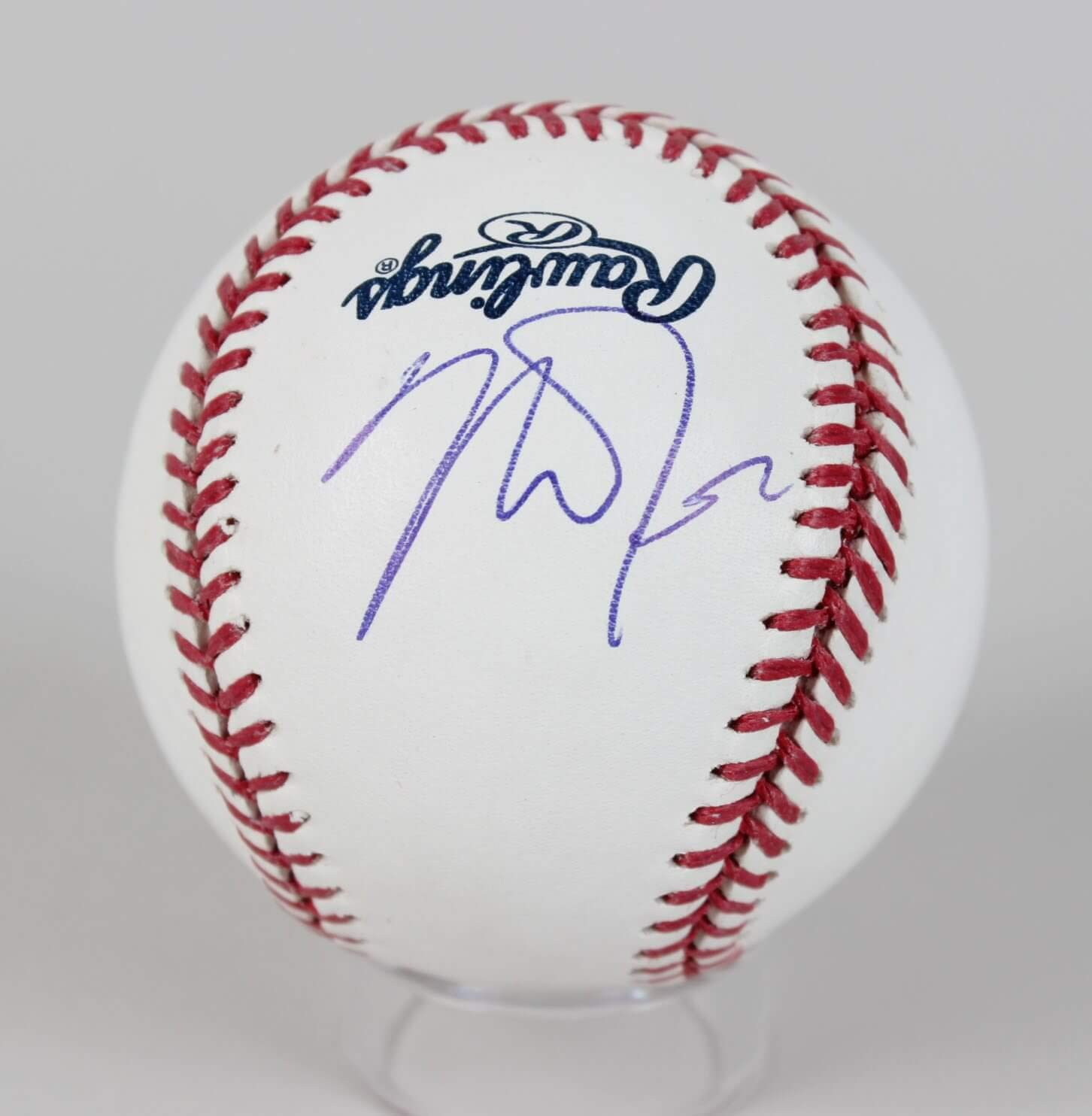 00eaa7ad075 Mike Trout Signed Baseball Angels - COA JSA at Amazon s Sports Collectibles  Store