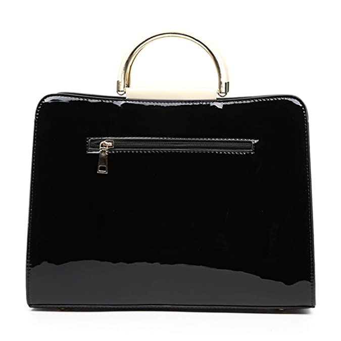 Amazon.com: Gail Jonson Luxury Pu Leather Handbags Fashion Women Famous Brands Designer Handbag Brand Ladies Shoulder Bag Black 34Cm: Shoes