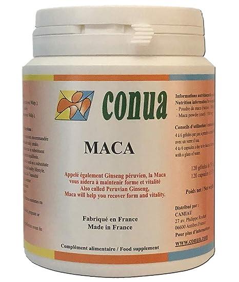 Raíz de Maca, Agricultura sana, 500 mg 120 cápsulas, Ginseng peruano rendimiento físico