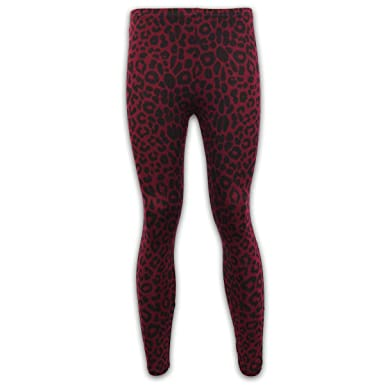 e5aed397055ed Girls Leggings Kids Tights Pants Children Leopard Animal Print Stretch  Casual LEO8: Amazon.co.uk: Clothing