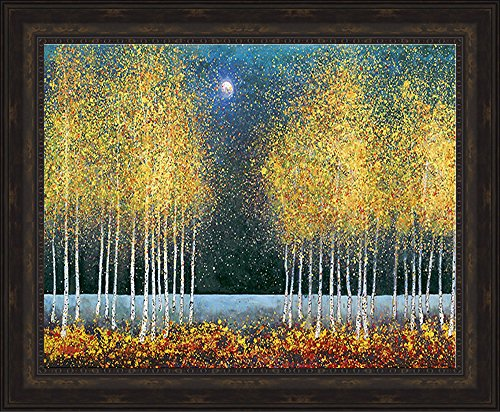 Framed Art by Graves-Brown - Blue Moon 42 X 30