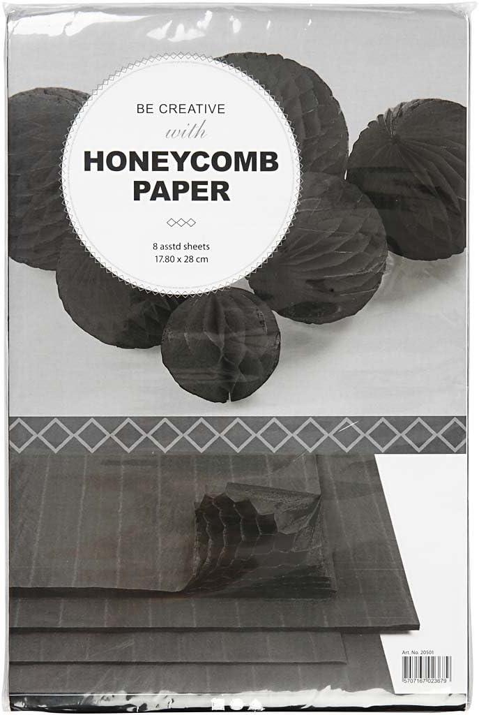 Blatt 28x17,8 cm 8Blatt rot Harmonika Papier