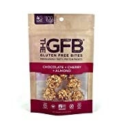 The GFB Protein Bites, Chocolate Cherry Almond, 4 Ounce, Gluten Free, Non GMO