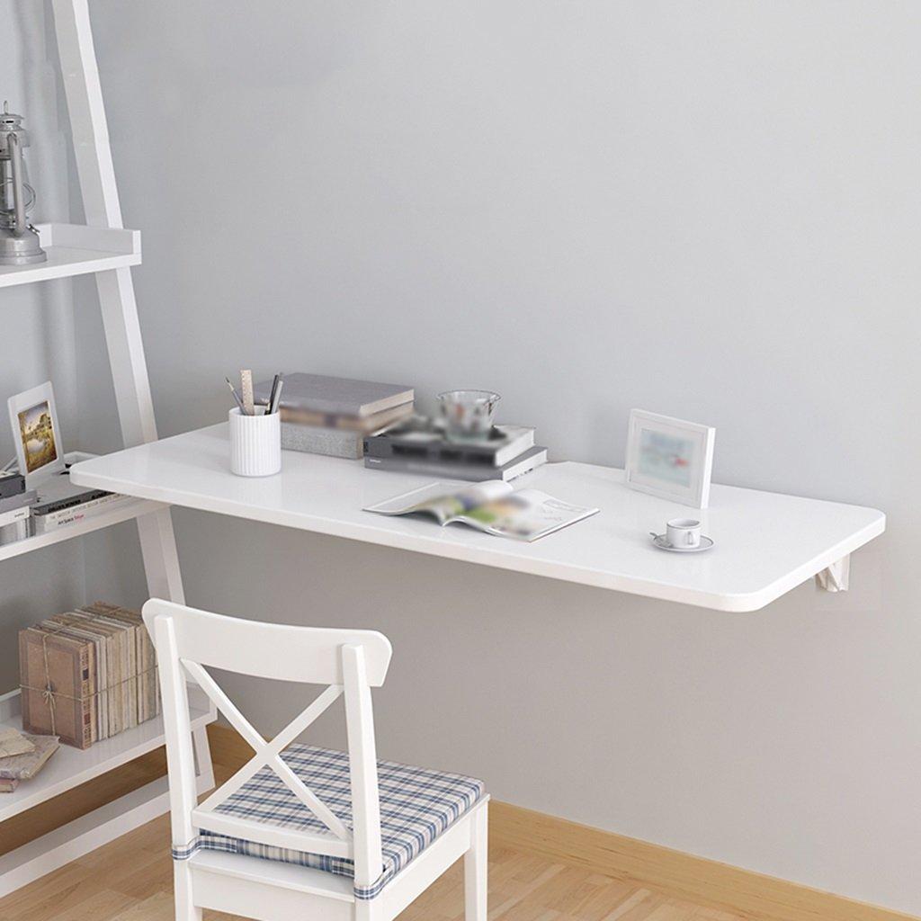 壁掛け収納棚ホワイトダイニングテーブル壁掛け折りたたみ式コンピュータデスク家庭用セットトップボックスラック ( サイズ さいず : 90cm*40cm ) B07BT59RQ6 90cm*40cm 90cm*40cm