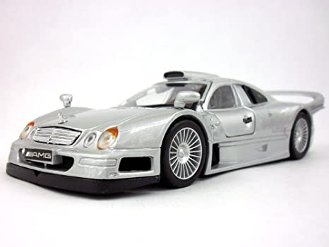 Mercedes Benz Clk Gtr >> Amazon Com Mercedes Benz Clk Gtr 1 26 Diecast Metal Model