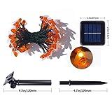 Aukora Solar String Lights Outdoor, 30 LED Fairy