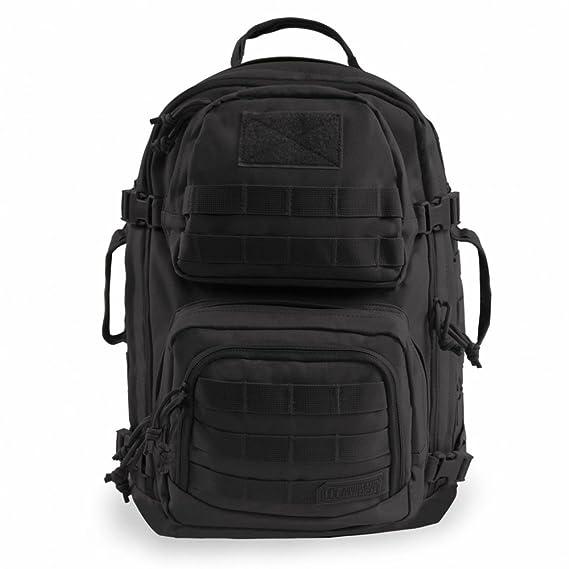 Amazon.com : Highland Tactical Brand Major Black Backpack - HL-BP-60-BK : Sports & Outdoors