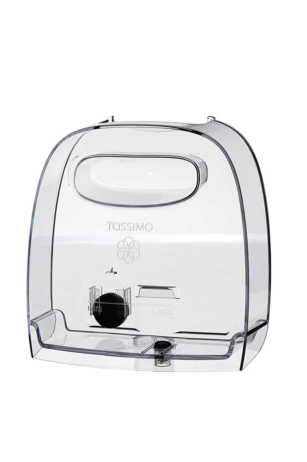 Bosch Tassimo Genuine Water Tank (without a Lid) (To Fit: Tassimo Black TAS2002GB & Tassimo White TAS2001GB Machines) c/w A Packet of Tassimo Cappuccino Coffee T-Discs + Cadbury Chocolate Bar Bosch Appliances