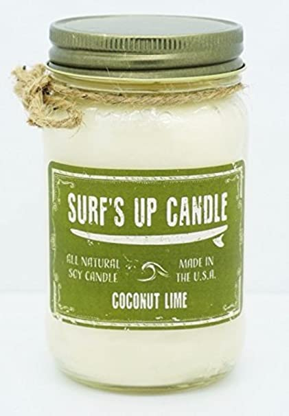 a1a895032b15 Image Unavailable. Image not available for. Color: Surf's Up Candle ...