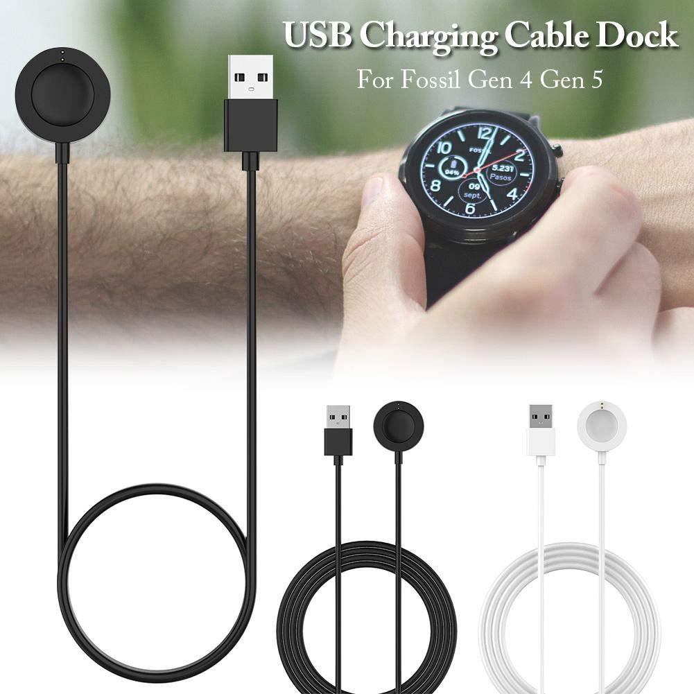 Smartwatch Cargador para Fossil Gen 4 Gen 5 Cargador Cable USB ...