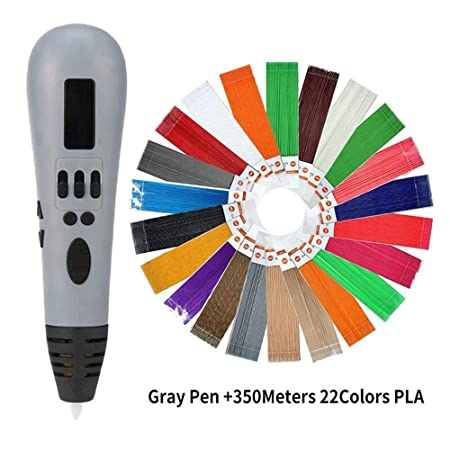 H.Y.FFYH Imprimir Pen Impresora 3D OLED Pluma Multicolor Garabato ...