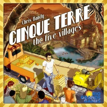 Cinque Terre Board Game by Rio Grande Games