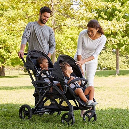 Contours Options Elite Tandem Double Stroller, Carbon by Contours (Image #2)