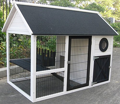 kaninchenstall farbig lasiert 150 x 90 cm meerschweinchen k fig kleintiergehe kaufen. Black Bedroom Furniture Sets. Home Design Ideas
