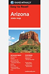Easy To Read: Arizona State Map (STATE HIGHWAYS) Map