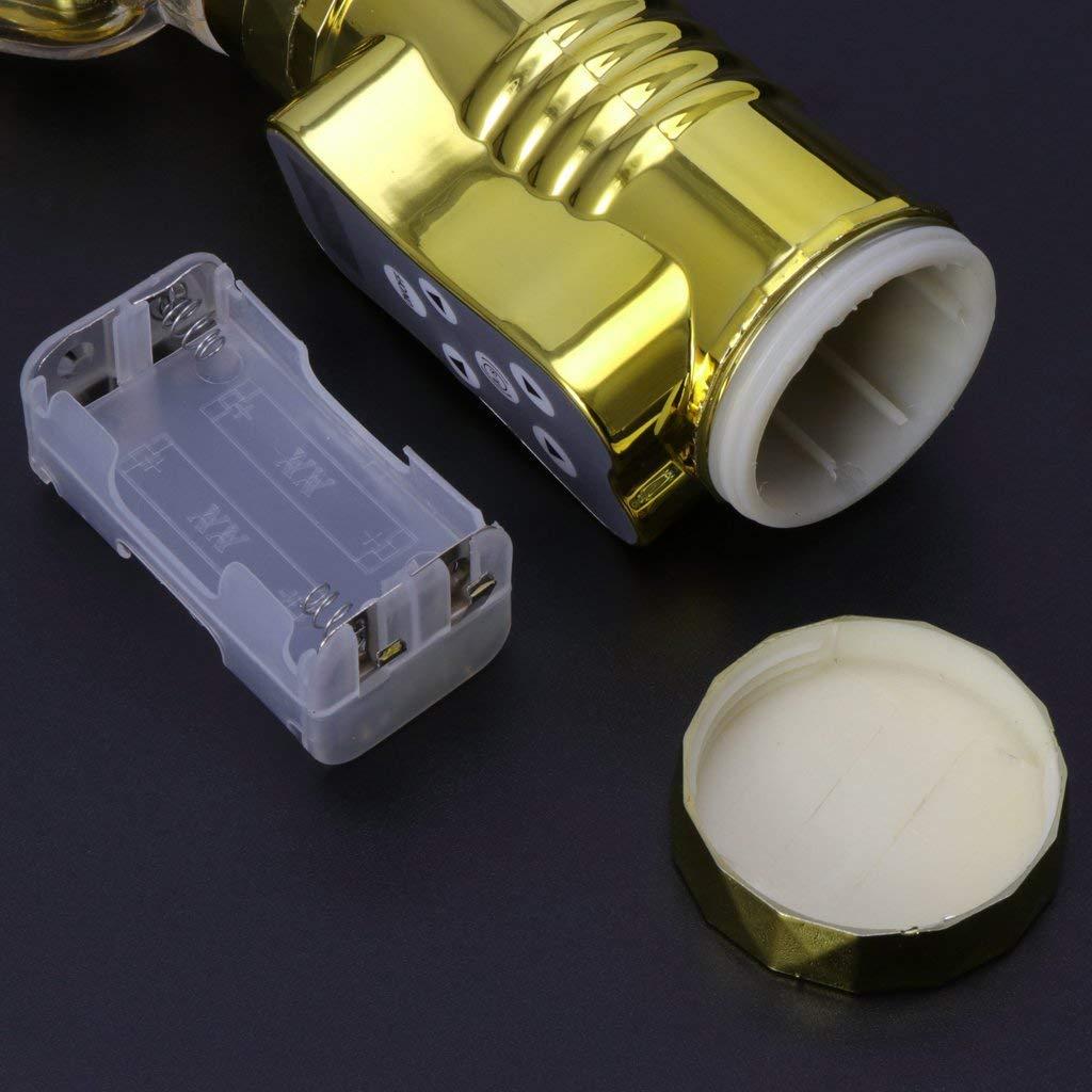 MLFMHR Dildo clítoris vibradores para Mujeres estimulador del clítoris Dildo Punto G vibrador, clítoris Doble Motor vibrador Adulto Juguetes sexuales para Mujer (Plata) 75b340