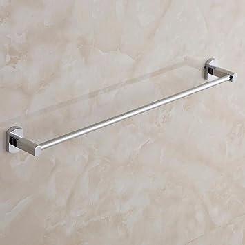 Brass Chrome Wall Mounted Towel Rail Towel Holder Storage Rack 30cm