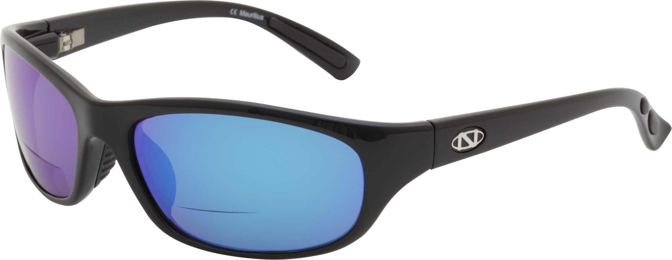 ONOS Carabelle Polarized Sunglasses (+1.75 Add Power), Black, Blue/Grey