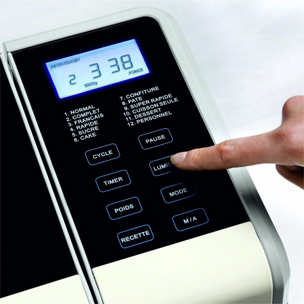 Riviera & Bar QD782A - Panificadora automática (600 W, 3 tamaños de pan): Amazon.es: Hogar