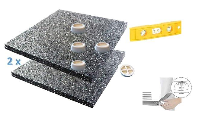 2 X Antivibrationsmatte Für Waschmaschine Oder Trockner