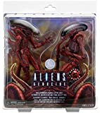 NECA Aliens 7 inch Scale Action Figure - Genocide Big Chap and Dog Alien (pack of 2)