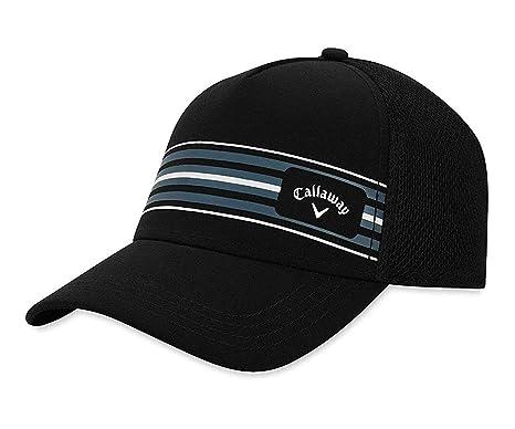Amazon.com   Callaway Golf 2019 Stripe Mesh Hat 78a9e185edd