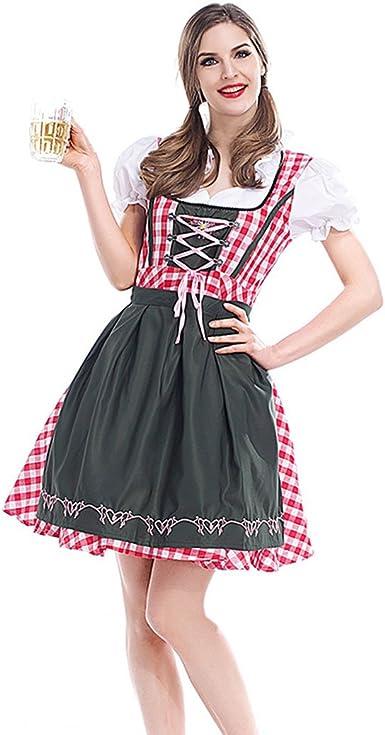 Disfraz de Oktoberfest para Mujer Vestido del Festival de la ...