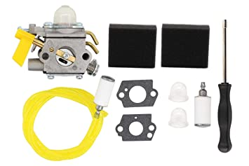 amazon com carburetor tune up carb kit for 25cc 26cc 30cc ryobi Poulan Pro Weed Eater Fuel Line Replacement carburetor tune up carb kit for 25cc 26cc 30cc ryobi bc30 pole saw homelite weed