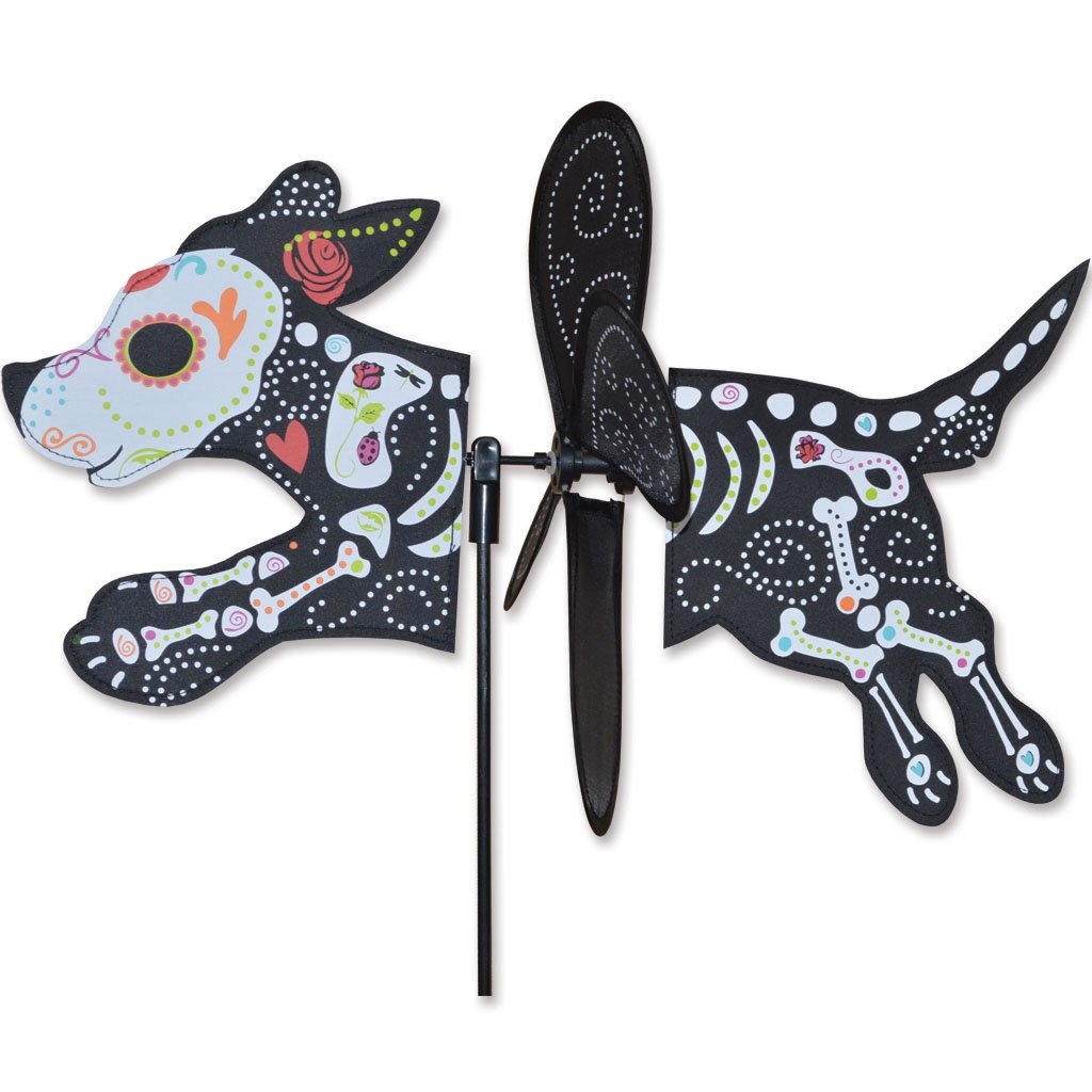 Petite Spinner - Day Of Dead Zombie Dog