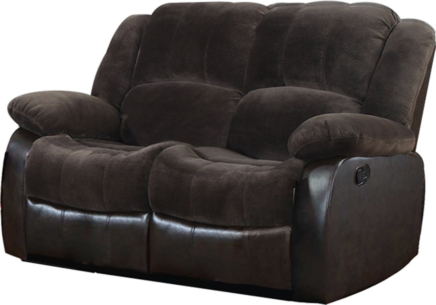 NHI Express Aiden Motion Loveseat (1 Pack), Peat