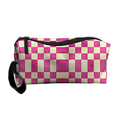 Raspberry Lemon Make-Up Cosmetic Tote Bag Carry Case