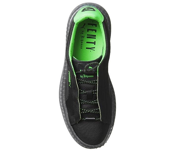 Puma X Fenty Wmn Cleated Creeper Surf 367681 03 Negro Zapatillas para Mujer: Amazon.es: Zapatos y complementos