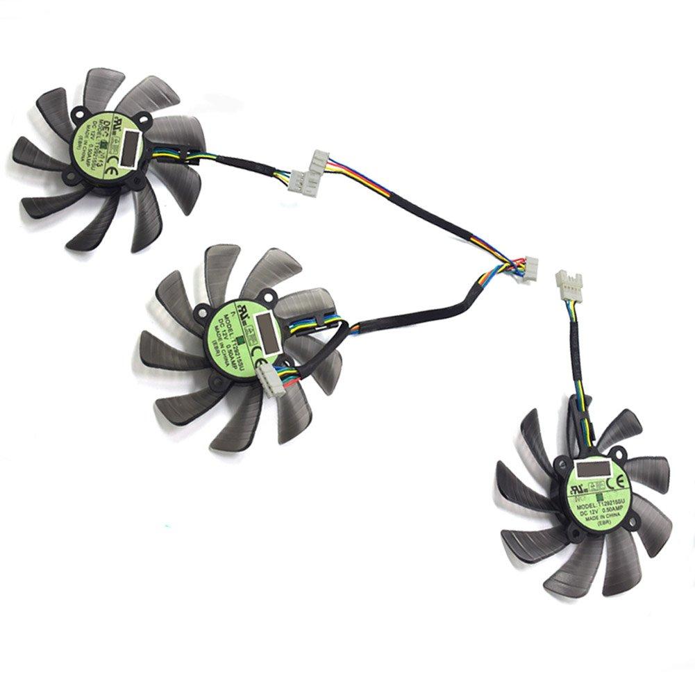 85MM T129215SU GTX 1060 1070 1080 RX470 RX 470 480 580 R9 390 GTX980Ti Fan For ASUS STRIX Raptor Fan by Z.N.Z (Image #2)