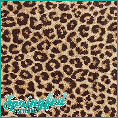 [해외]LEOPARD 비닐 커터에 대한 인쇄 패턴 공예 비닐 3 시트 좁은 관광 명소/LEOPARD SPOTS PRINT PATTERN Craft Vinyl 3 Sheets 6x6 for Vinyl Cutters